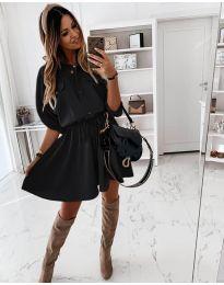 Šaty - kód 8586 - čierná