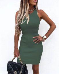 Šaty - kód 6331 - olivovo zelená