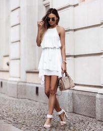 Šaty - kód 2104 - biela