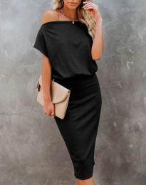 Šaty - kód 1737 - čierná