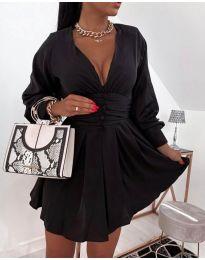 Šaty - kód 4343 - čierná