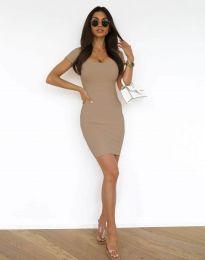 Šaty - kód 0988 - cappuccino
