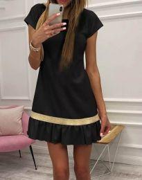 Šaty - kód 2532 - 1 - čierná