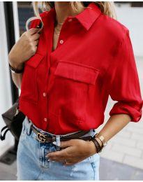 Košeľa - kód 6148 - červená