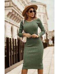 Šaty - kód 8485 - zelená
