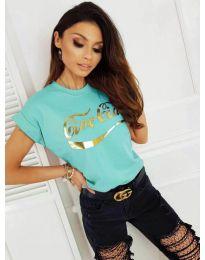 Tričko - kód 3659 - mentolová