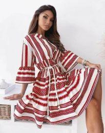 Šaty - kód 1481 - červená