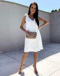 Šaty - kód 2504 - biela