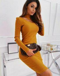 Šaty - kód 11441 - hořčičná