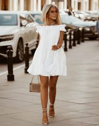 Šaty - kód 6969 - biela