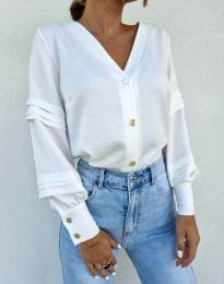 Košeľa - kód 7492 - biela
