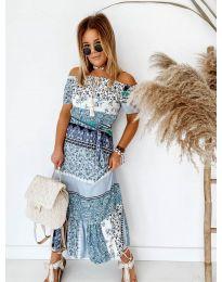 Šaty - kód 5061 - modrá