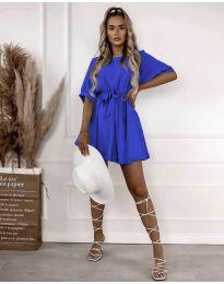 Šaty - kód 13131 - modrý