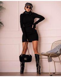 Šaty - kód 1656 - čierná