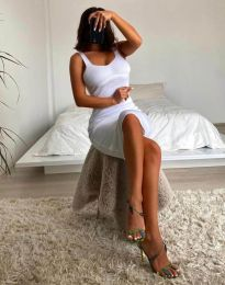 Šaty - kód 10122 - biela