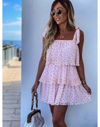 Šaty - kód 6140 - ružová