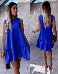 Šaty - kód 3456 - modrá