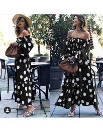 Šaty - kód 9951 - čierná