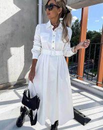 Šaty - kód 1467 - biela