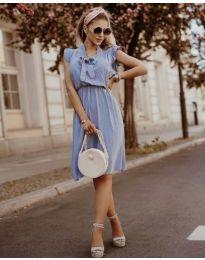 Šaty - kód 7045 - modrý