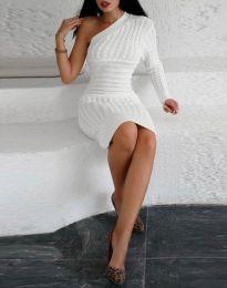 Šaty - kód 2588 - biela