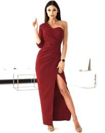 Šaty - kód 4511 - bordeaux