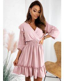 Šaty - kód 8554 - ružová