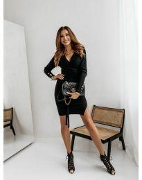 Šaty - kód 9510 - 1 - čierná