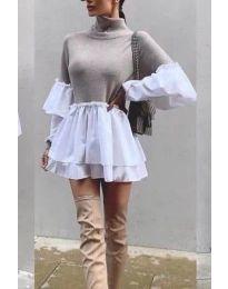 Šaty - kód 1188 - bežová