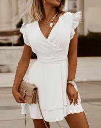Šaty - kód 5654 - biela