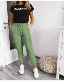 Nohavice - kód 3089 - 1 - zelená