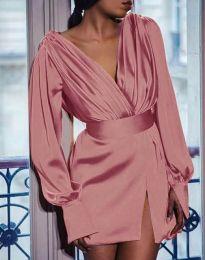 Šaty - kód 5324 - ružová