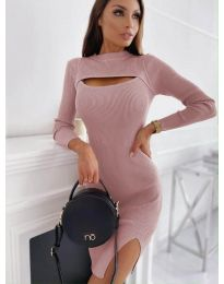 Šaty - kód 4528 - ružová