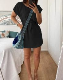 Šaty - kód 2258 - čierná