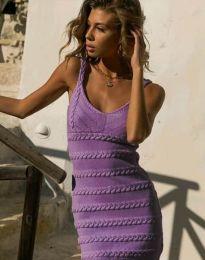 Šaty - kód 2203 - fialová