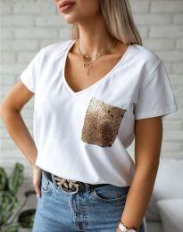 Tričko - kód 11631 - biela