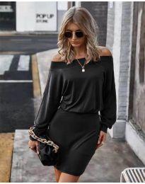 Šaty - kód 4447 - čierná