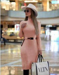 Šaty - kód 2932 - ružová