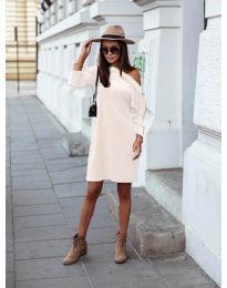 Šaty - kód 8171 - biela