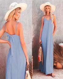 Šaty - kód 4673 - svetlo modrá