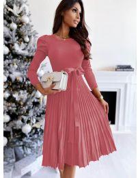 Šaty - kód 3939 - ružová