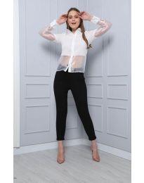 Košeľa - kód 0638 - 1 - biela