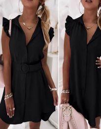 Šaty - kód 7411 - čierná