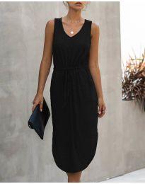 Šaty - kód 681 - čierná