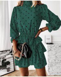 Šaty - kód 3665 - tmavě zelená