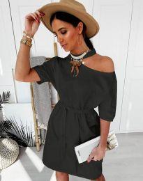 Šaty - kód 5848 - 1 - čierná