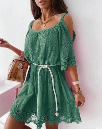 Šaty - kód 6954 - zelená