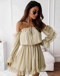 Šaty - kód 0223 - šampanské