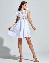 Šaty - kód 1482 - 5 - biela