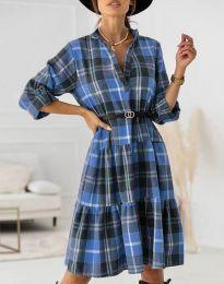 Šaty - kód 6842 - svetlo modrá